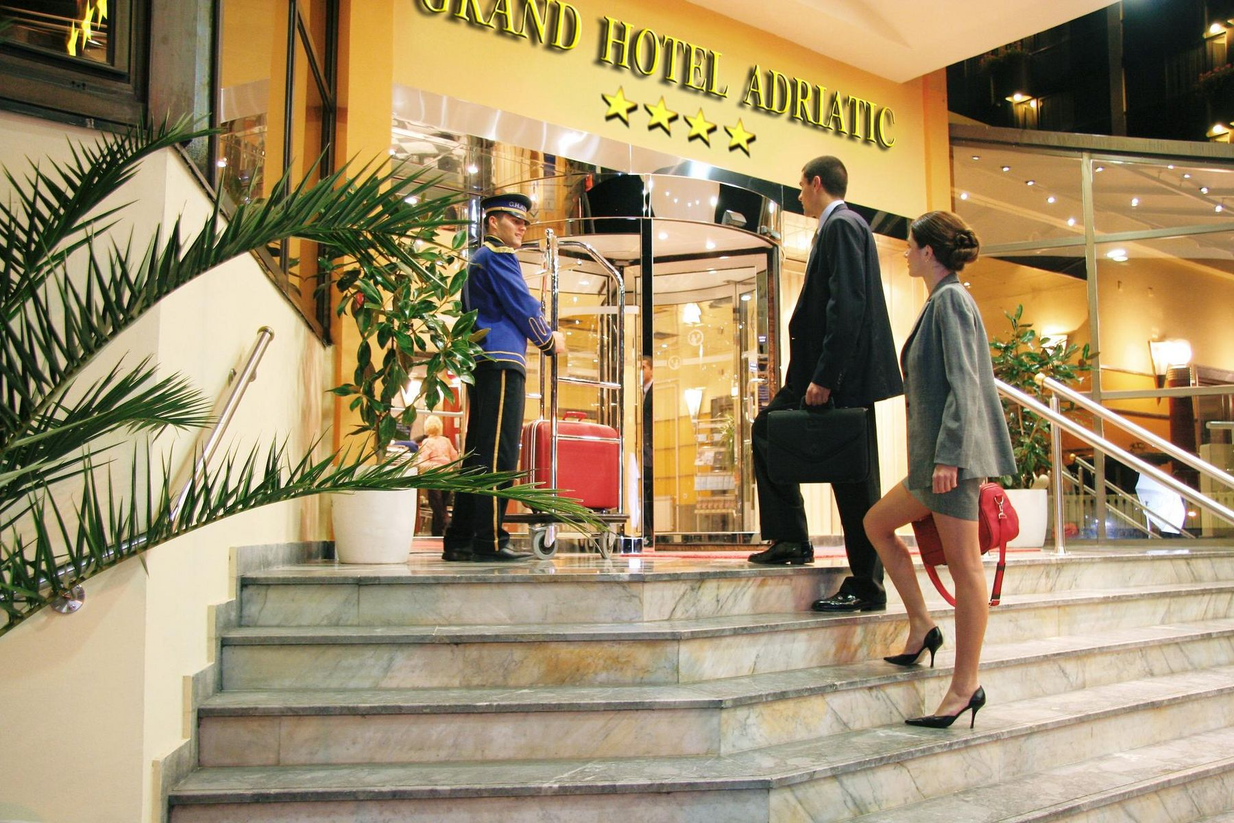 Grand Hotel Adriatic in Opatija